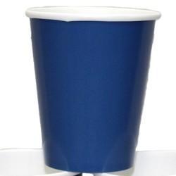 9oz Blue Paper Cups