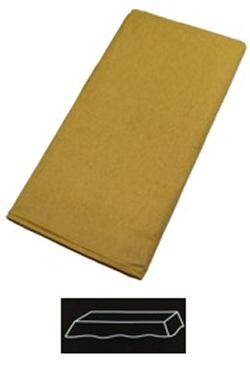 54in  x 108in Gold Plastic Lined Paper Tablecovers