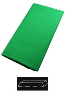 54in x 108in Green Plastic Lined Paper Tablecovers
