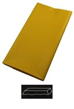 54in  x 108in School Bus Yellow Plastic Tablecovers