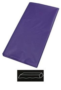 54in  x 108in Purple Plastic Tablecovers