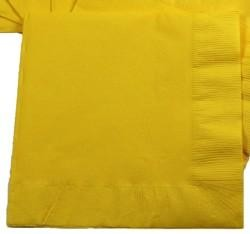 6.5in x 6.5in Yellow Lunch Napkins