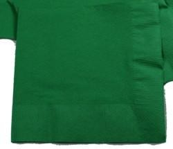 6.5in x 6.5in Green Lunch Napkins
