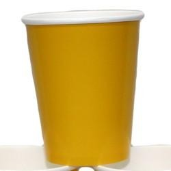 9oz Yellow Paper Cups