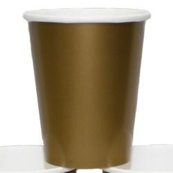 9oz Gold Paper Cups
