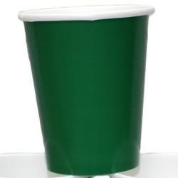 9oz Green Paper Cups