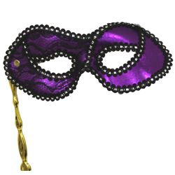 Masks on Sticks: Purple Lamei