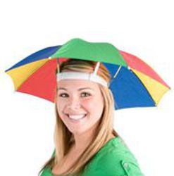 21in Nylon Umbrella Hat