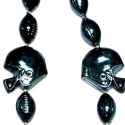 33in Metallic Navy Football Helmet Beads