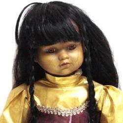 Dolls: Indian Mardi Gras Doll