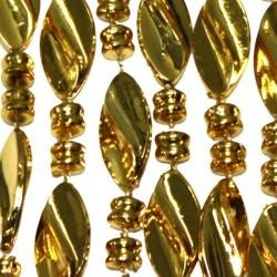 23mm 42in Gold Twist Beads