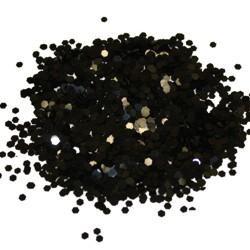 Black Chunky Glitter
