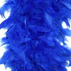 Royal Blue Feather Boas