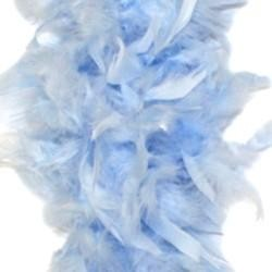 Baby Blue Feather Boas