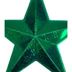 12 x 12in Green Wall Star