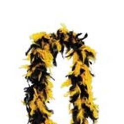 Black/ Yellow Feather Boas