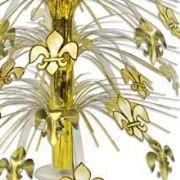 18in Fleur-De-Lis Cascade Centerpiece