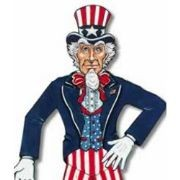 3ft Jointed Uncle Sam
