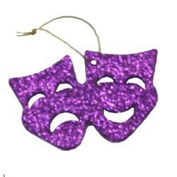 Purple/ Green/ Gold Foam Glitter Decorative Masks and Crowns