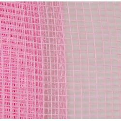 Pink Plain Mesh Ribbon Netting