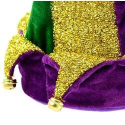 8in Wide x 17in Tall Mardi Gras Dancing Musical Hat