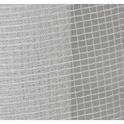 21in x 30ft White Plain Mesh Ribbon Netting