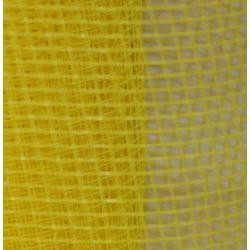 Yellow Plain Mesh Ribbon Netting