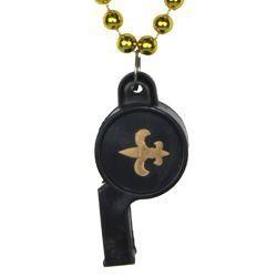 Fleur-de-Lis Whistle Necklace