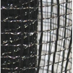 21in x 30ft Metallic Black Oasis Mesh Ribbon/ Netting