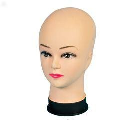 11in Tall x 6in Wide Plastic Mannequin Head