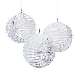 10in White Party Lantern
