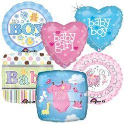 Baby Shower Assorted Mylar Balloons