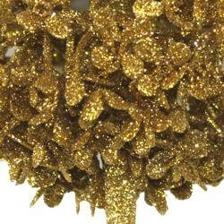 Decorative Glittered Gold Centerpiece