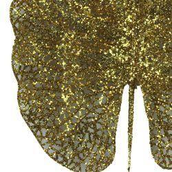Decorative Glittered Gold Leaf