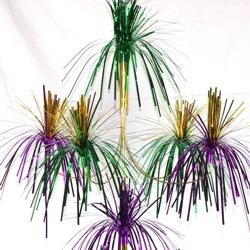 24in Tall x 12in Wide Mardi Gras Fireworks Chandelier
