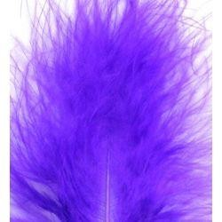 3in-7in Long Purple Craft Feathers