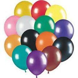 12in Assorted Colors Latex Balloons