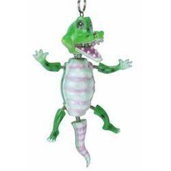 Bobble Beads: Dancing Alligator Necklace