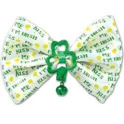 Kiss Me I am Irish bow tie