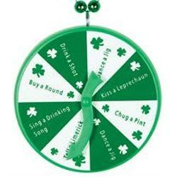 St. Patricks Spinner Medallion Necklace