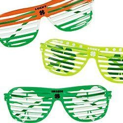 Irish Plastic Shutter Shading Sunglasses