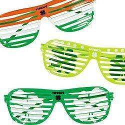 Irish Plastic Shutter Shading Sunglasses