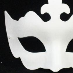 Blank Paper Mache Masquerade Mask