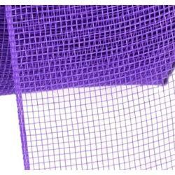 4in Wide x 75ft Long Poly Mesh Roll: Plain Purple