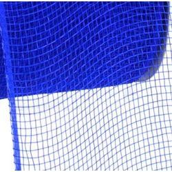 4in Wide x 75ft Long Poly Mesh Roll: Plain Royal Blue