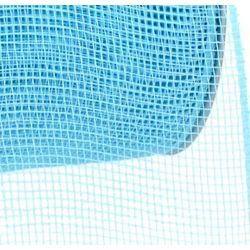 4in Wide x 75ft Long Poly Mesh Roll: Plain Turquoise/ Teal