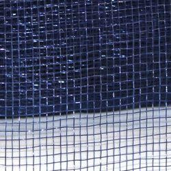 4in Wide x 75ft Long Poly Mesh Roll: Plain Navy Blue