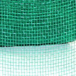 4in Wide x 75ft Long Poly Mesh Roll: Plain Green