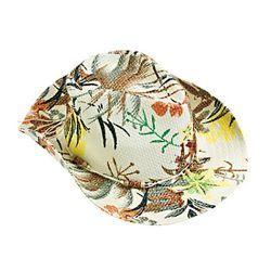 Woven Paper Luau Cowboy Hat