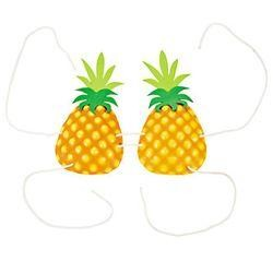 6in x 10in Pineapple Bra